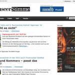 Die Tegernseer Stimme berichtet aus fünf Gemeinden im Süden Bayerns