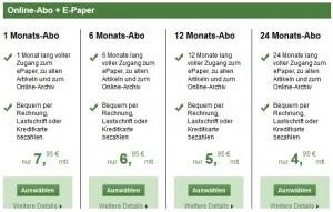 Die Bezahlung muss schnell und einfach funktionieren. Sonst kann es nicht klappen. (Bild: abendblatt.de)